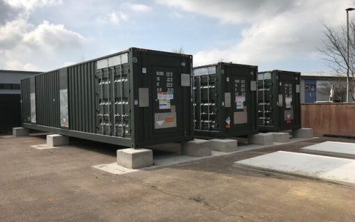 Flexitricity aggregated Philip Dennis Foodservice's two batteries. Image: Flexitricity.