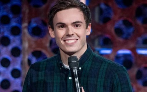 Comedian Rhys James will host the 2021 EVIEs awards. Image: Rhys James.