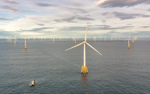 SSE is continuing to shift its operations to focus on networks and renewables, such as its offshore wind operations. Image: SSE.