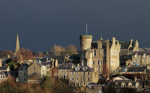 Selkirk in the Borders region of Scotland. Image: Walter Baxter.