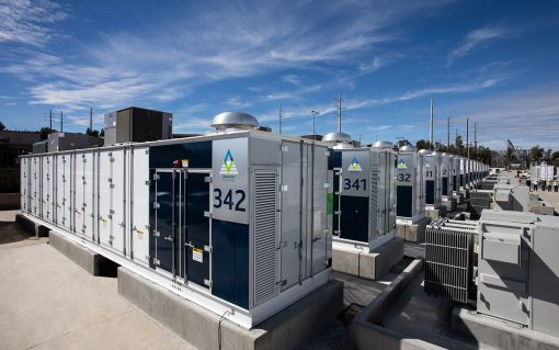 Only Fluence has deployed a large scale battery storage project on the island of Ireland with its Kilroot project. Image: Fluence.