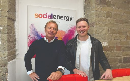 Social Energy co-founders Julian Wiley (left) and Ryan Gill (right). Credit: Social Energy.