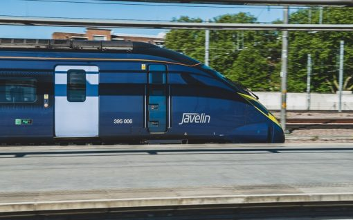 A Southeastern Rail High Speed Javelin Train, which runs on HS1's network. Credit: HS1.