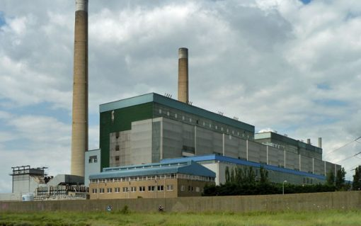 RWE Generation was proposing to develop Tilbury Energy Centre at the former Tilbury B Power Station site. Image: Robin Webster.