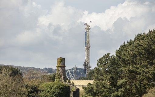 The United Downs site in Cornwall. Image: Geothermal Engineering.