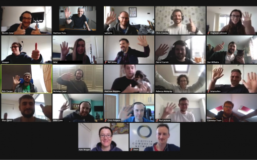 Upside Energy has been embracing video calls as it transitions to remote working. Image: Upside Energy.