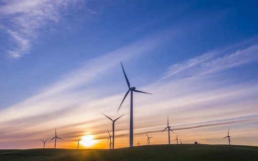 Just 629MW of onshore wind came online last year in the UK.