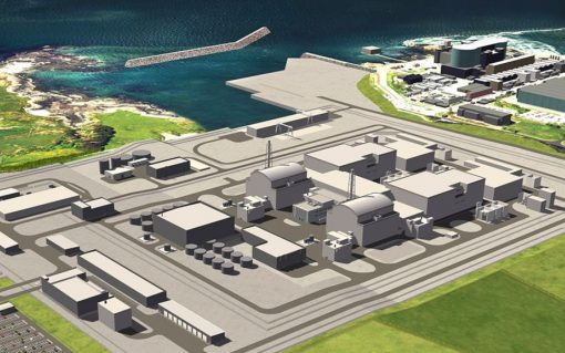 Wylfa Newydd will supply 2.9GW of power and is expected to come on stream in the mid-2020s. Image: HNP.