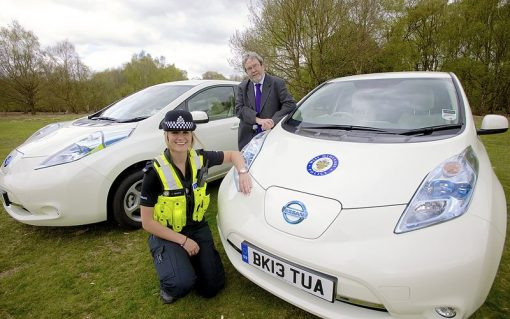 Government figures show EVs on the rise