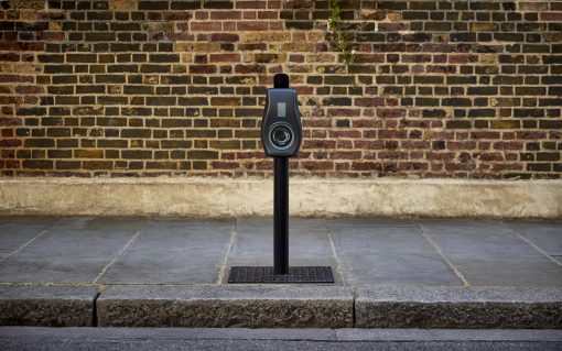 The project is to use live data to improve maintenance and repair of EV chargers. Image: Connected Kerb