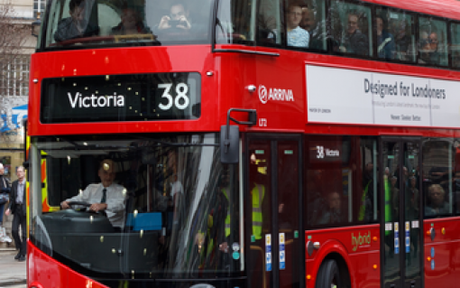 Hybrid London buses to test wireless electric charging