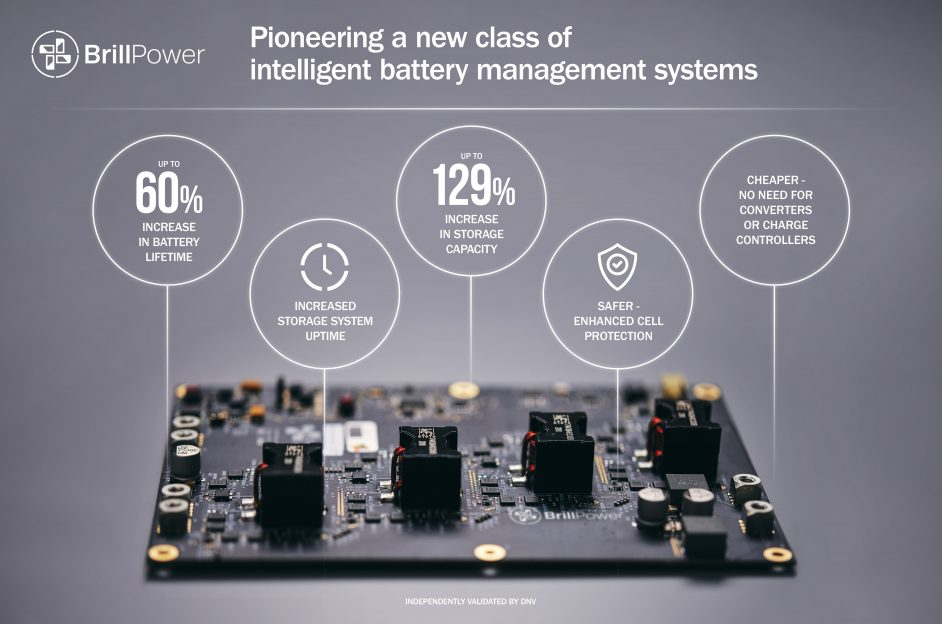 The B62 is set to be the first in a number of management systems launched by the company. Credit: Brill Power.