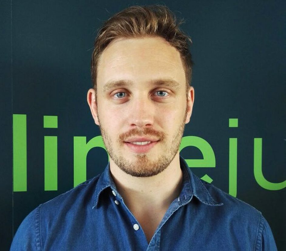 Joe McDonald, Limejump's vice-president of sales.