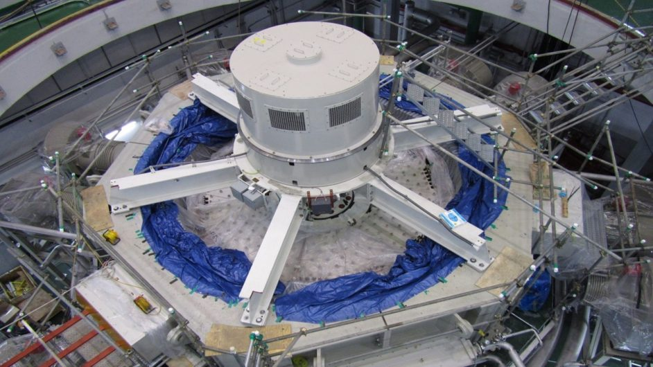 GE's Rotating Stabilizer synchronous machine. Image: GE Power Conversion.