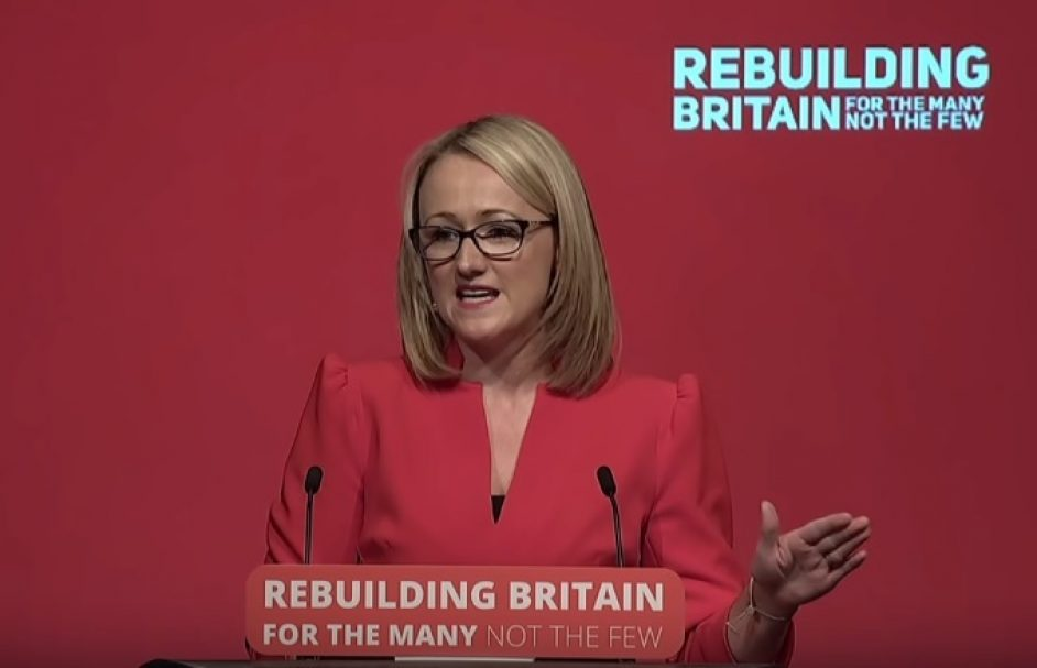 Rebecca Long-Bailey, shadow secretary of state for business, energy and industrial strategy.