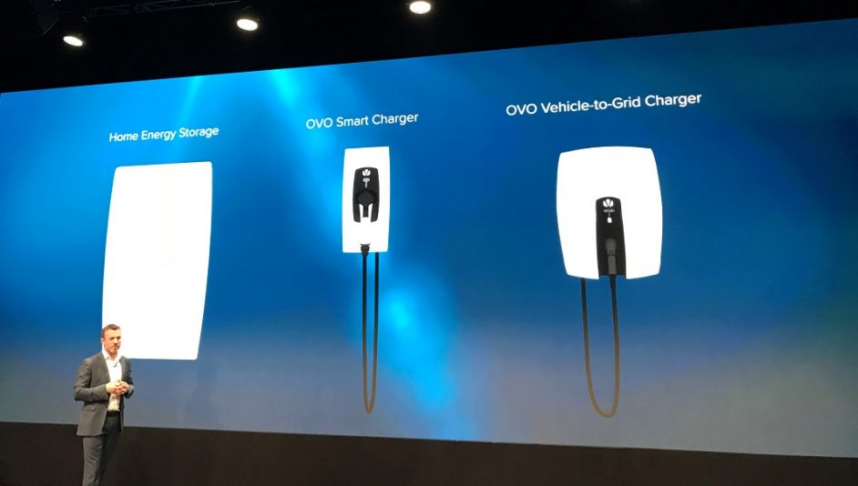 Stephen Fitzpatrick, CEO and founder of OVO, launched a home battery system, a smart EV charger and a V2G charger earlier this year.