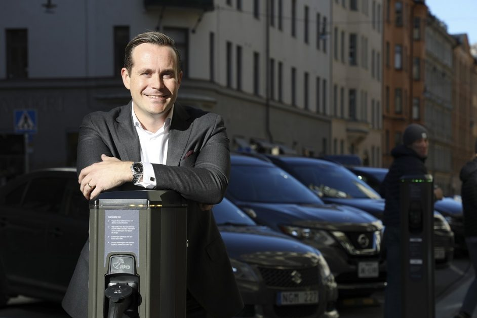 """""""We are here to be relevant and significant, we are aiming at a leading top three position,"""" Tomas Björnsson, Vattenfall's head of e-mobility. Image: Vattenfall."""
