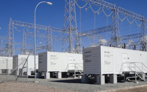 Ørsted previously used NEC's GSS Grid Storage Solution on a project in Chile (pictured). Image: ​Ørsted.
